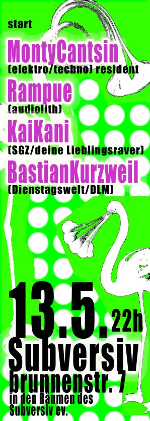 Subversiv 13.05.